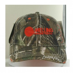 CAMOUFLAGE WASHED TWILL WITH PINK ACCENTS AND MELLING ENGINES LOGO