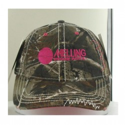 CAMOUFLAGE WASHED TWILL WITH ORANGE ACCENTS AND MELLING ENGINES LOGO