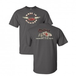 MADE IN MICHIGAN/CAMSHAFTS & OIL PUMPS T-SHIRT