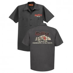 MELLING CAMSHAFTS & OIL PUMPS SHOP SHIRT