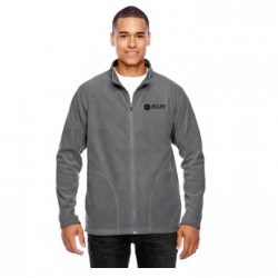 MICROFLEECE FULL ZIP JACKET WITH MELLING LOGO EMBROIDERED