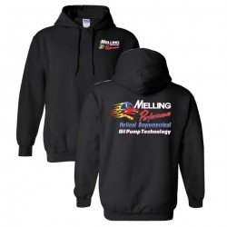 MELLING SHARK HOODED SWEATSHIRT
