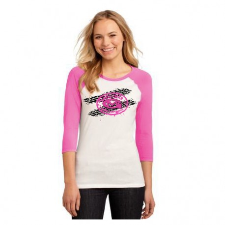 LADIES' 3/4 SLEEVE T-SHIRT