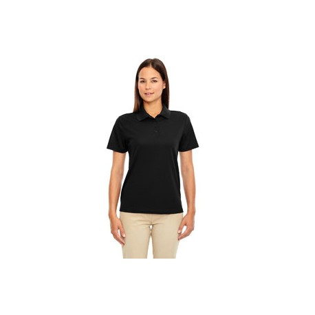 LADIES' MOISTURE WICKING POLO SHIRT WITH MELLING LOGO EMBROIDERED