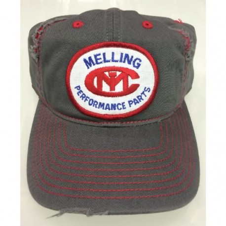 UNSTRUCTURED RIP AND DISTRESSED CAP WITH MELLING VINTAGE PATCH