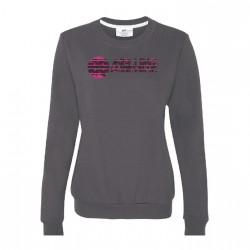LADIES CREW NECK SWEATSHIRT